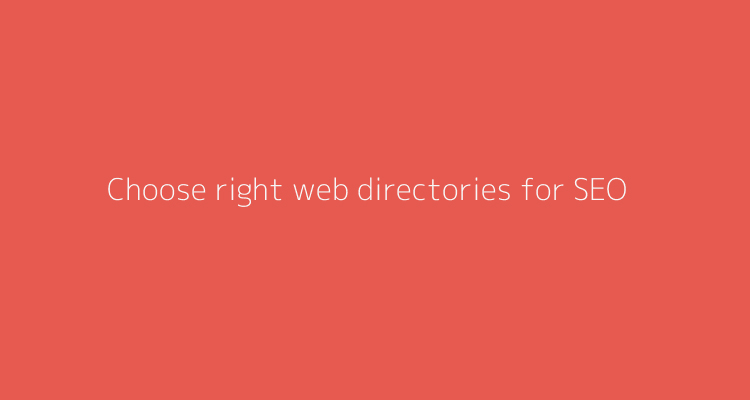 Choosing best website directory for SEO