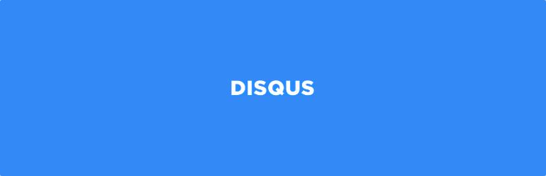 Disqus Comment System WordPress Plugin