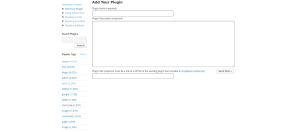 WordPress Plugin Submission