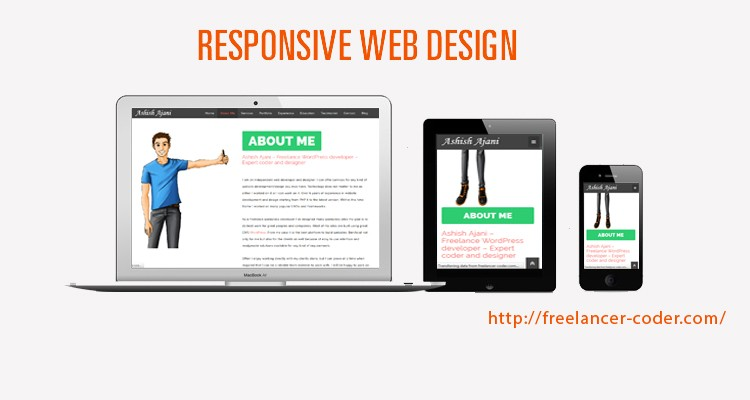 Responsive website design is essential – Make your website mobile friendly