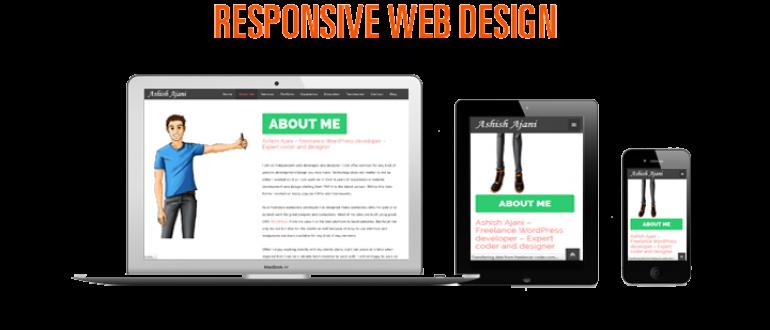 Responsive website design is essential – Make your website mobile friendly