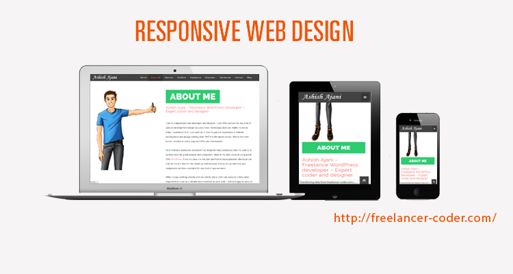 Responsive website design is essential - Make your website mobile friendly