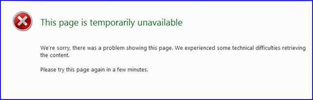 Unavailable-because-of-Bandwidth-Exceeded