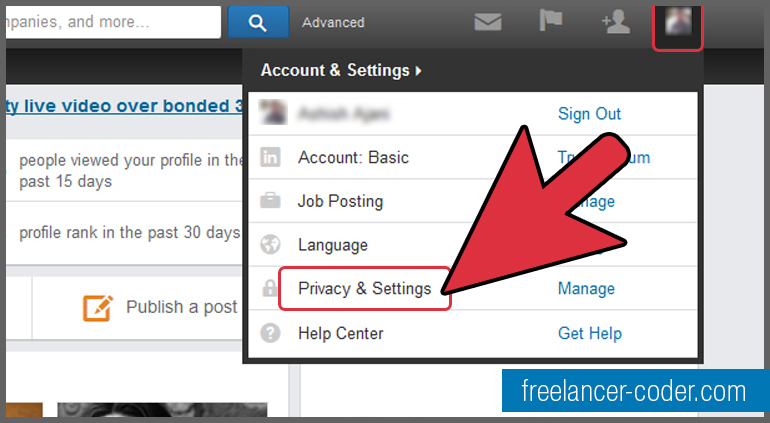 2 LinkedIn Privacy and Settings
