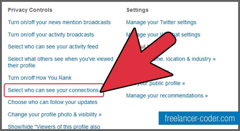 4 LinkedIn Privacy Controls