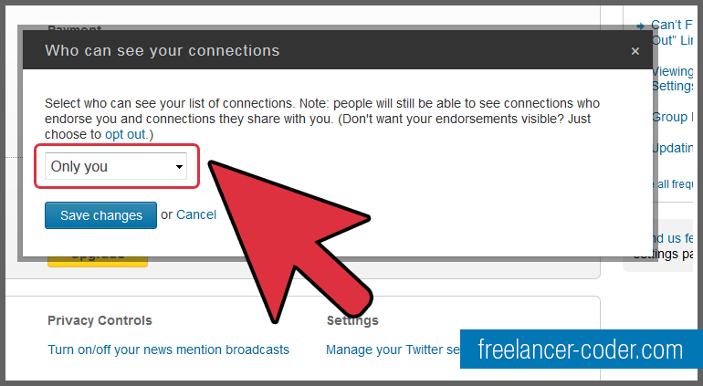 5 LinkedIn Hide Connections