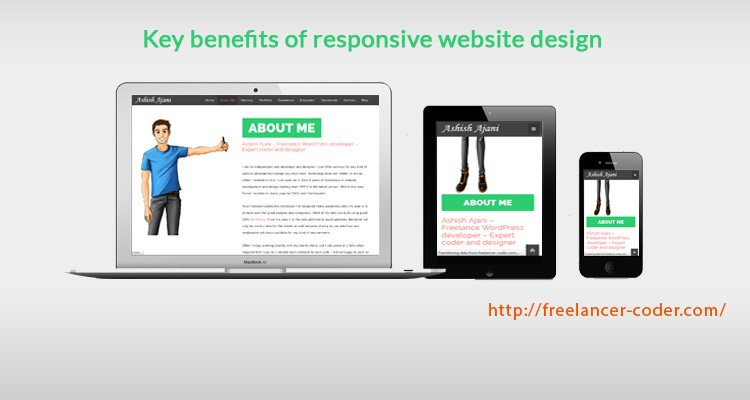 Responsive Web Design – 6 key benefits of using it