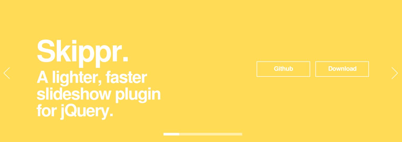 Skippr - jQuery responsive sliders