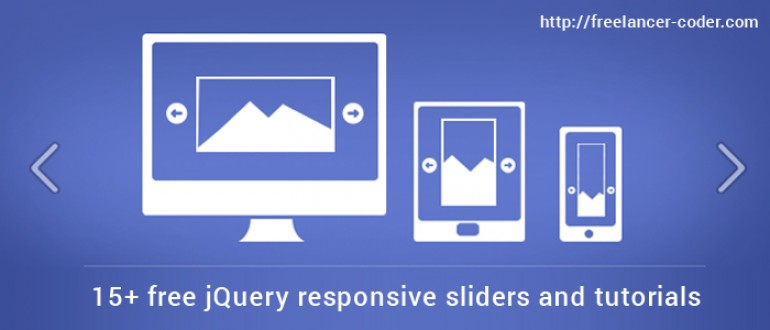 15+ free jQuery responsive sliders and tutorials