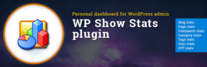 WP-Show-Stats a utiliy plugin to see complete details about usage of WordPress.