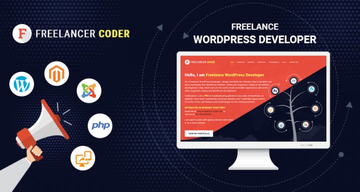 Freelance WordPress Developer - freelancer-coder.com