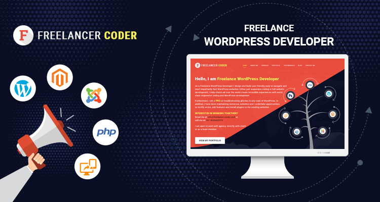 Freelance WordPress Developer - freelancer-coder.com