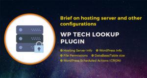 WP Tech Lookup