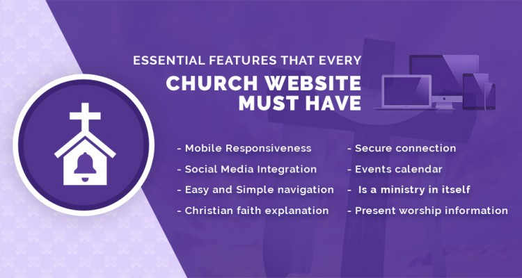 Essential features that every church website must have
