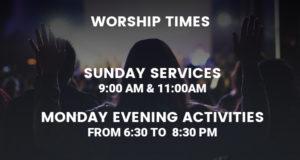 Present worship information