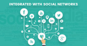 Integrated with social networks
