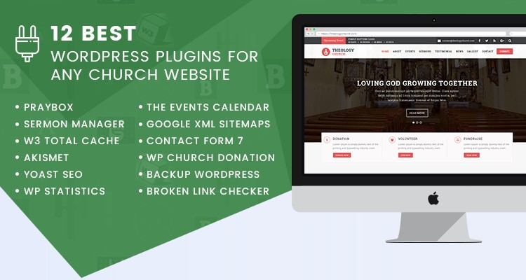Church Website WordPress Plugins