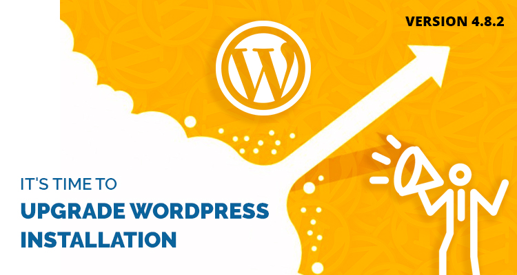 upgrade wordpress to 4.8.2