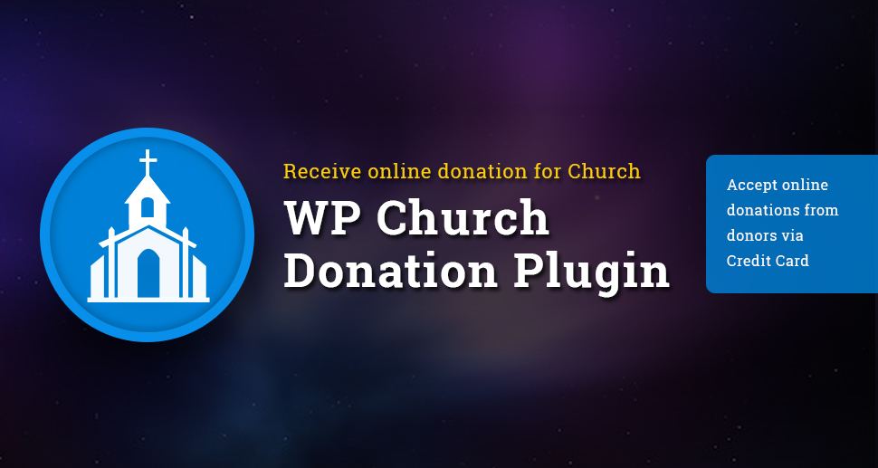 WP Church Donation plugin