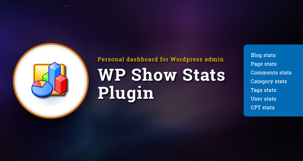 WP Show Stats WordPress plugin