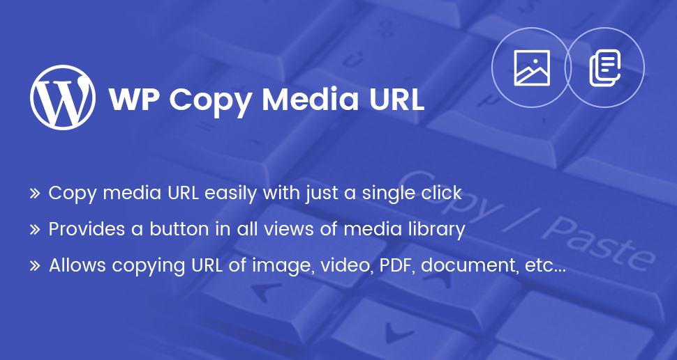 WP Copy Media URL Plugin